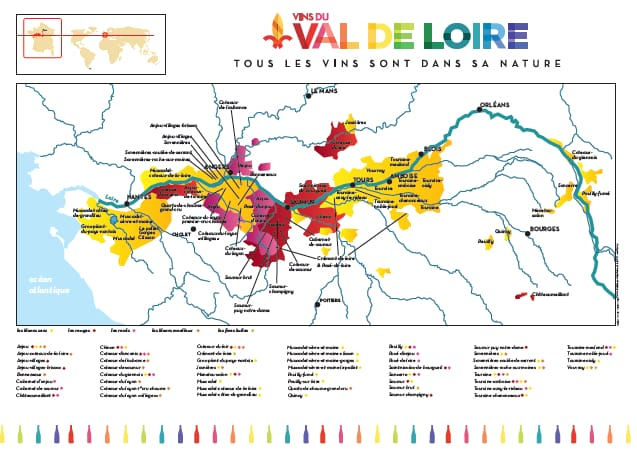 Loire Valley Map